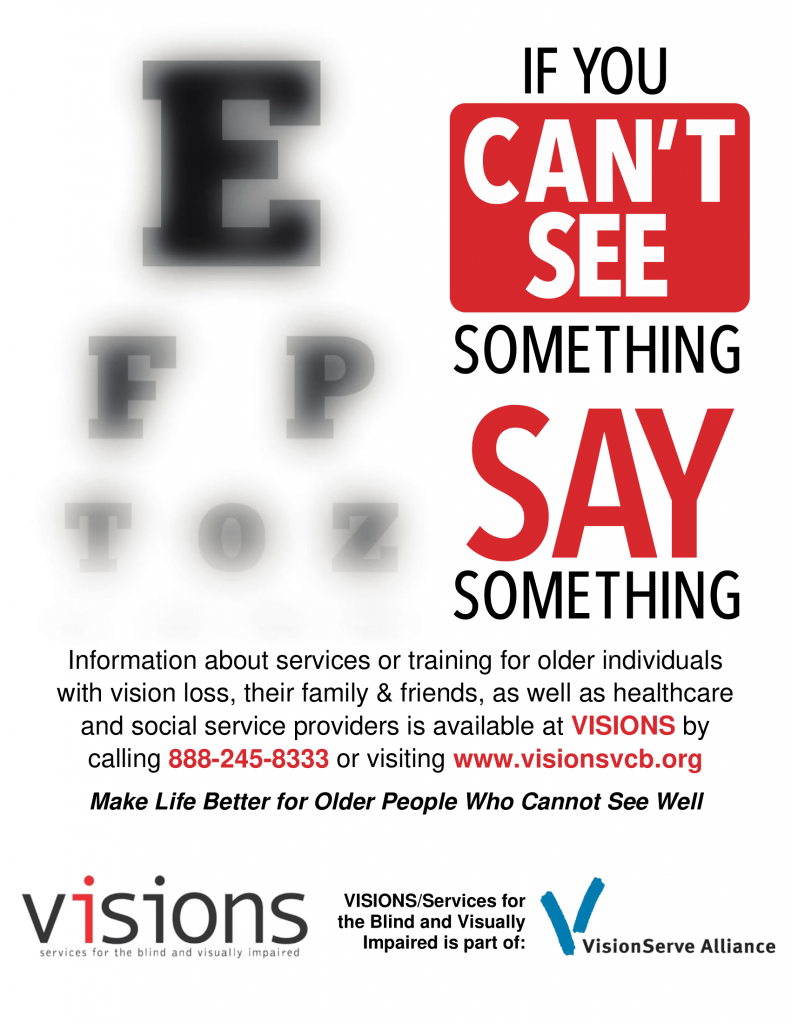 If you cant see something, Say something flyer